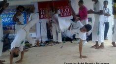 Grupo de Capoeira Aché Brasil do município de Palmares