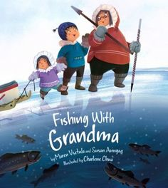 Adventure begins when Grandma takes her two grandchildren out for a trip on the lake. After showing the kids how to prepare of a fishing trip, Grandma and the kids enjoy a day of jigging in the ice for fish. Grandma shows them everything they need to know to complete a successful fishing trip, from what clothes to wear, to how to drill and clear holes in the ice, to how to make a traditional Inuit jigging rod.