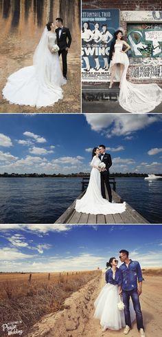 Vivian Hsu romantic chic prewedding photos!