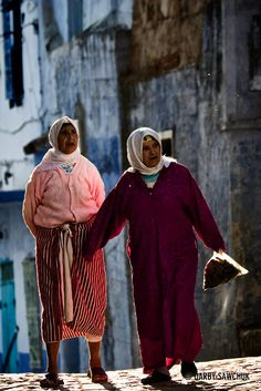 Photo of the Day: Chefchaouen Women