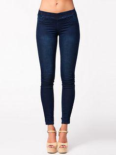 Skinny Jeggings - Nly Trend - Marine - Jeans - Vêtements - Femme - Nelly.com La Mode En Ligne Sur Internet
