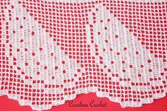 Carolina Crochet: Melancias... delícia! Thread Crochet, Filet Crochet, Crochet Boarders, Doily Patterns, Crochet Round, Doilies, Diy And Crafts, Quilts, Elsa