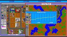 SimCity PC 1989 Gameplay