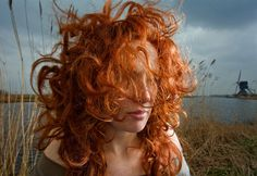 natuurlijk rood haar | monica | foto: hanne van der woude