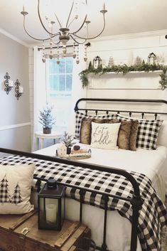 Looking for for ideas for farmhouse bedroom? Browse around this website for perfect farmhouse bedroom inspiration. This unique farmhouse bedroom ideas seems completely excellent. Country Bedroom Design, French Country Bedrooms, Farmhouse Bedroom Decor, Home Bedroom, Country Decor, Bedroom Designs, Bedroom Table, Country Master Bedroom, King Bedroom
