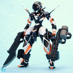 "Crunchyroll - ""Gargantia"" Chamber and ""Majestic Prince"" Red Five Inspire Mecha Figures"