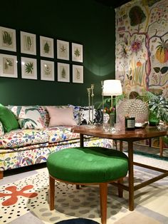 Josef Frank's prints are still very fresh and modern today
