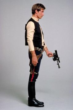 Just a regular dude.  With a laser pistol.  And a wookie best friend.