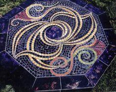 Mosaic Table www.clucasart.com