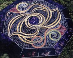 Mosaic Table www.clucasart.com