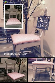 Hatty....bespoke chair as part of 4 piece customer dining set
