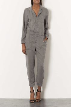 Casual Boilersuit - View All- Topshop USA