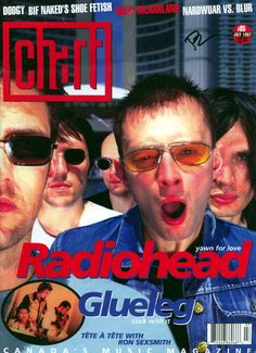 Radiohead - Magazine Covers - 1997 - Chart