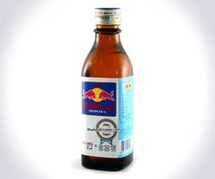 Original Thai Red Bull | Kinda want to order some.. just to say i've tasted it.