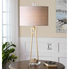 Uttermost Leonidas Gold Table Lamp 26144-1