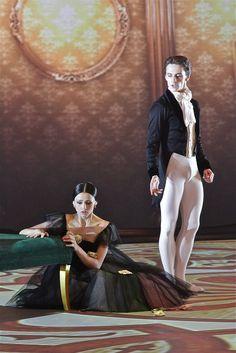 ristina Shapran and Sergei Polunin in Ashton's Marguerite and Armand.  Photo © Alexey Yakovlev.