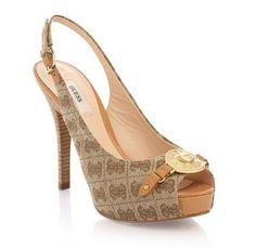 Escarpins Guess, craquez sur les Anay Studded Open-toe Shoe Guess prix promo GUESS 160.00 € TTC