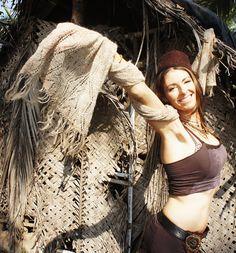 shawl made from nettle yarn! <3