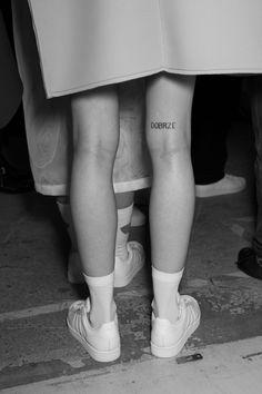 "la-poshfuckery: ""aphoticsouls: ""vogue-at-heart: ""Backstage at Jacquemus Fall 2014, Paris Fashion Week "" B&W FASHION "" """