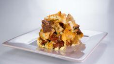 Mario Batali's Chorizo and Manchego Strata
