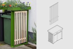 BinDock Double — Front Yard Company Ltd Garden Ideas For Small Yards, Yard Ideas, Garden Bed Layout, Roof Panels, Chelsea Flower Show, Succulents Diy, Raised Garden Beds, Small Gardens, Garden Projects