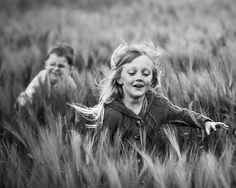 L'innocence de l'enfance... fragile et téméraire à la fois.