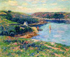 River in Belon, 1908. Henri Moret