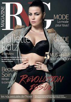 #rngmagazine #cover #magazine #ronde #glamour #plussize #paper #fashion #lingerie #revolution