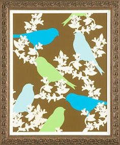 Ideas and Inspiration Bird Crafts, Paper Crafts, Branch Art, Collage Art Mixed Media, Bird Theme, Bird Silhouette, Bird Art, Illustration Art, Illustrations