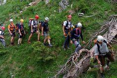 Bergrettung rettet verletzte Frau von Silvretta-Stausee-Wanderung