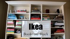 How To Make a Billy Bookcase Look Expensive - IKEA Hackers