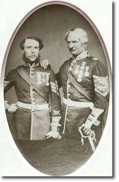 The Scots Guards (3rd Regmt of Foot Gds) Sergeant-Major and Drill Sergeant 1862