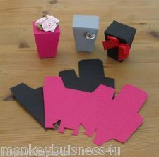 Popcorn style Favour Boxes - Die Cuts - Party - Wedding - Gifts - Christmas