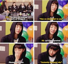 Shy Yongguk is too much to handle! So adorable