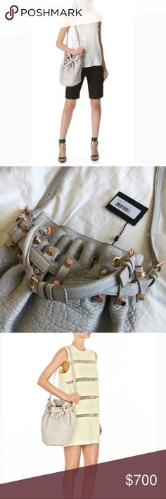 "New! Alexander Wang Large ""Diego"" Bag New With Tags! Alexander Wang Large Diego Bag. Color: Lilac Pebble + Rose Gold Hardware. Original Price $875 Alexander Wang Bags Shoulder Bags"