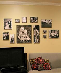 LundeenScene: Homemade Photo Canvas Wall