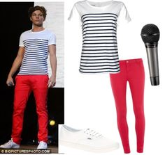 """Louis Tomlinson outfit"" by mirka07890 ❤ liked on Polyvore"