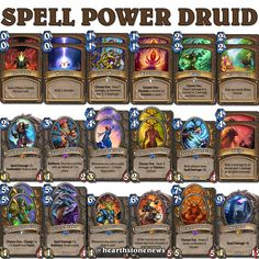 #hearthstone Spell Power Druid | S21