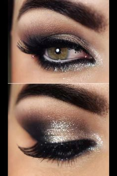 Evening smokey eye
