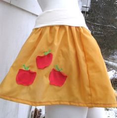 ]MY LITTLE PONY Skirt Applejack MLP FiM Cosplay your size Apple Jack