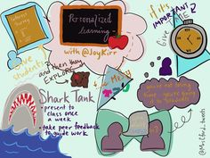 """""""Learning with at about how to attack personalized learning in the classroom. Genius Hour, Give And Take, Instructional Coaching, Sketch Notes, Giving, Work On Yourself, Twitter Sign Up, Classroom, Student"""