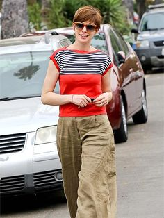 "Check out RED STRIPE shirt | Anne Hathaway"" Decal @Lockerz http://lockerz.com/d/26242248?ref=paparazzi.diarie1300"