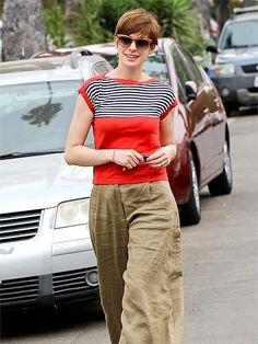 "Check out RED STRIPE shirt | Anne Hathaway"" Decal @Lockerz http://lockerz.com/d/26242248?ref=paparazzi.diarie1300"