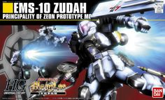 EMS-10 Zudah from Mobile Suit Gundam MS Igloo