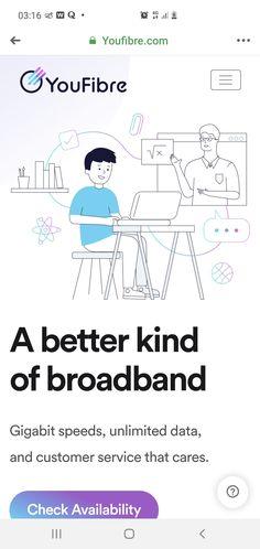 A better kind of broadband