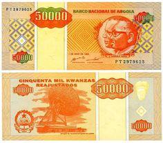 Angola - 50000 kwanzas