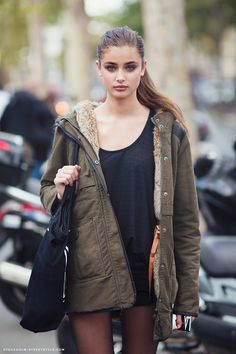 Style Ideas: Taylor Marie Hill Fall Street Style
