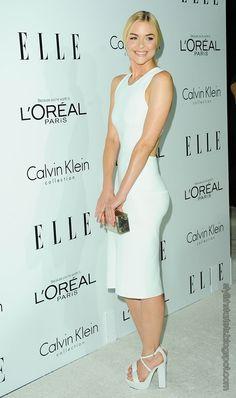 Jamie King wearing Calvin Klein.