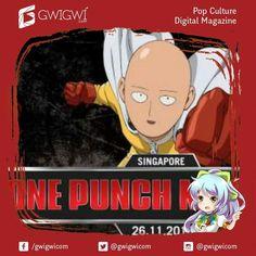 ONE PUNCH MAN RUN: HERO FOR FUN SINGAPORE 2016 AKAN DIGELAR PERTAMA KALI DI DUNIA  One Punch Man Run: Hero for Fun adalah lari santai pertama yang bertemakan karakter animasi ternama dari Jepang One Punch Man. Kegiatan ini adalah persembahan dari Avex Asia dan merupakan bagian dari acara Anime Festival Asia Singapore 2016 (AFA SG 16). Rencananya kegiatan ini akan dilakukan pada tanggal 26 November 2016 mulai pukul 7 pagi waktu setempat. Baca berita selengkapnya hanya disinu…