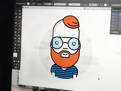 Work in progress #magdagogo #dribbble #avatar #illustration #icon #characterdesign